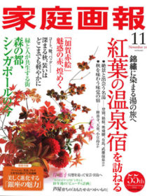 雑誌「家庭画報」2012年11月号に滝乃家が掲載されました。