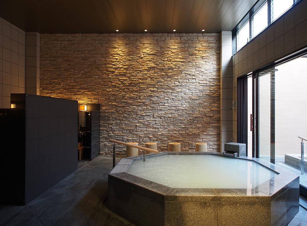 HOTEL NEMU <br>温浴施設 「KIYORA」 改装