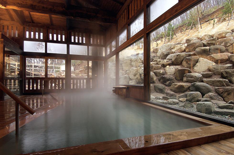 蔵王国際ホテル <br>露天風呂 「八衛門の湯」 増築