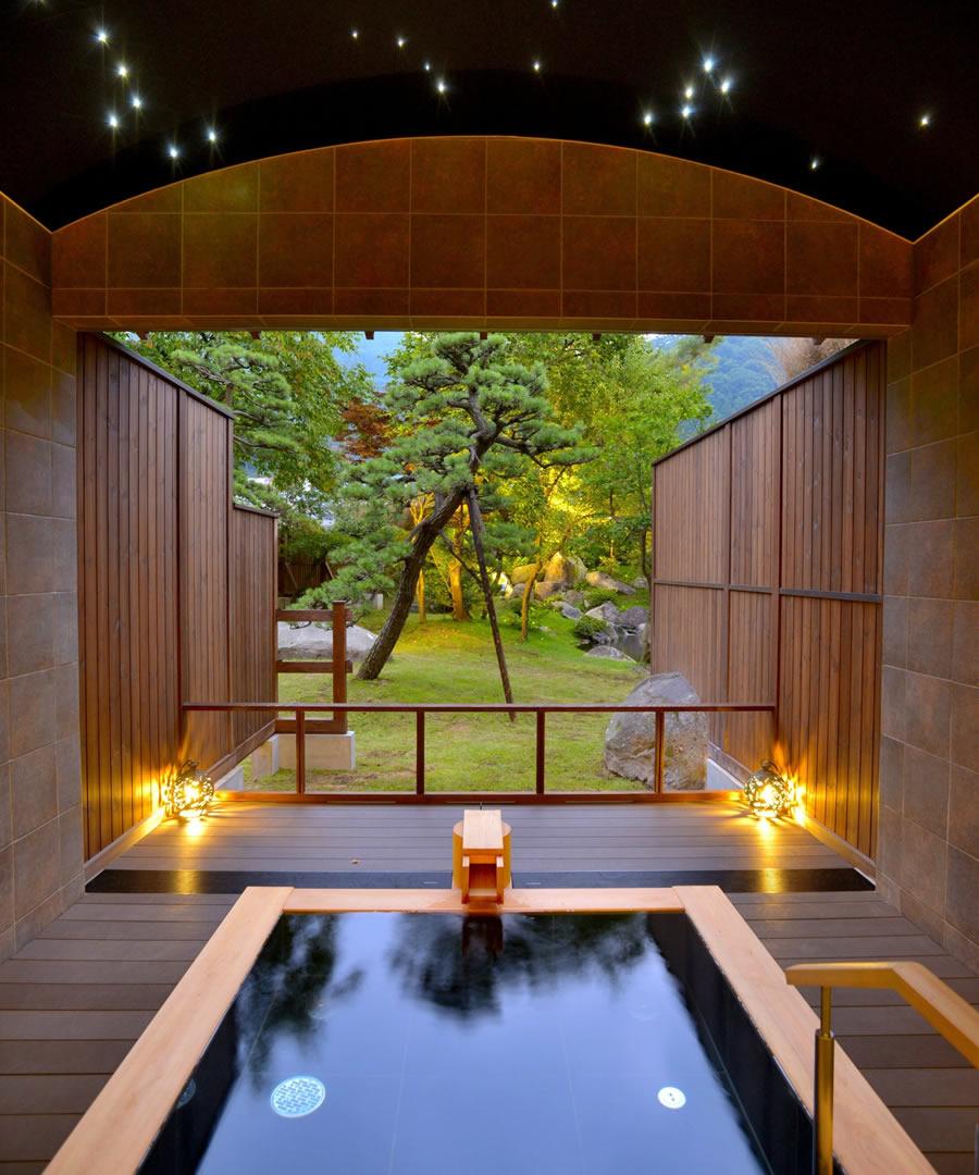 お風呂をつなぐ「めぐり湯回廊」