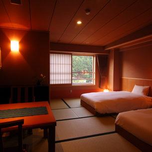 萩姫の湯 栄楽館 <br>客室 改装