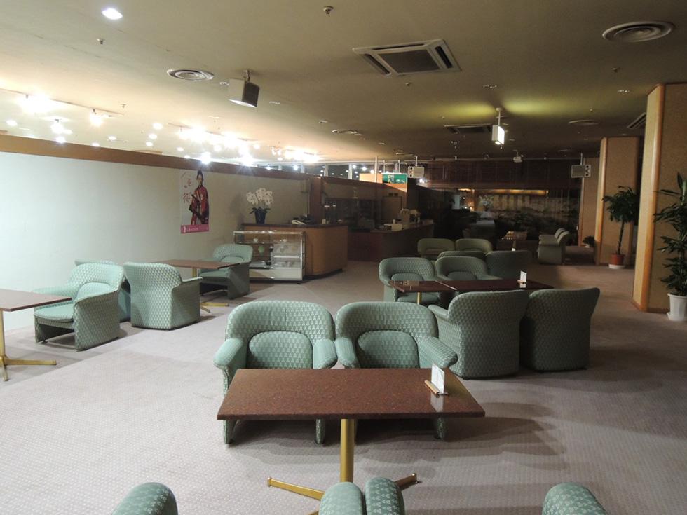 丸峰観光ホテル <br>ロビー 改装