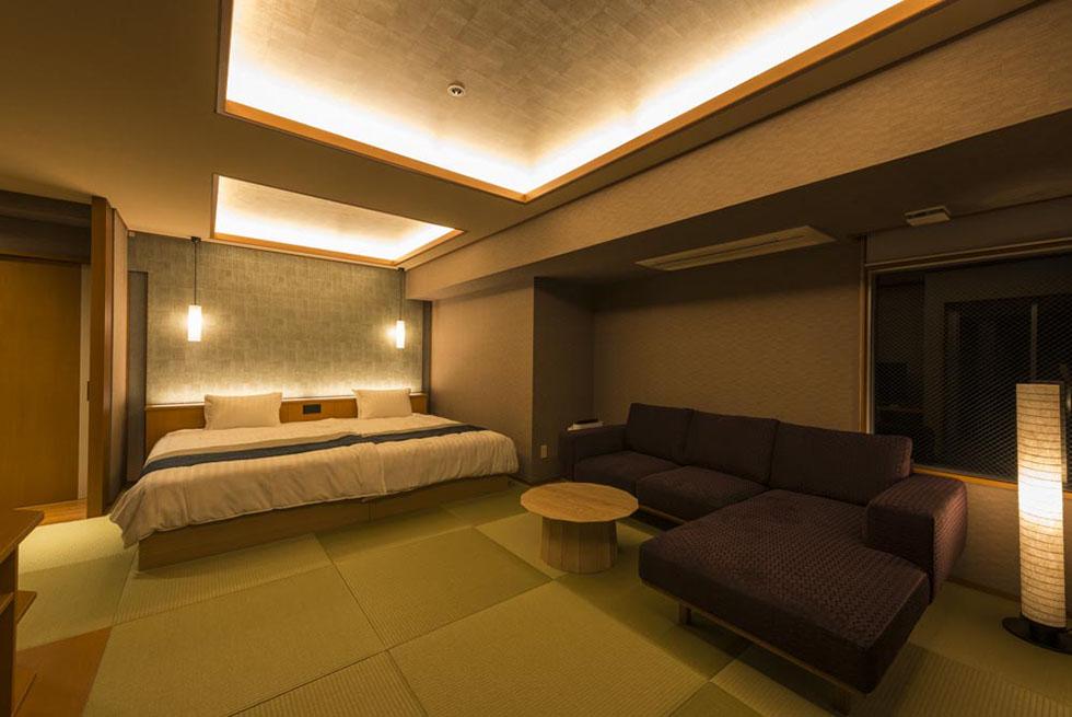 いなとり荘 <br> 露天風呂・客室 改装