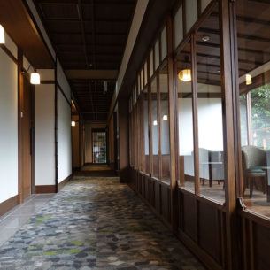 湯回廊菊屋 <br>客室 「風の語り部」 増築  <br>ダイニング・大浴場・客室 改装