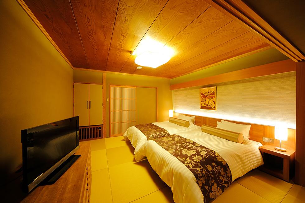 ホテル白樺荘 <br>客室 改装