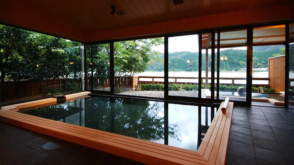 銀花 <br>露天風呂・客室 改装