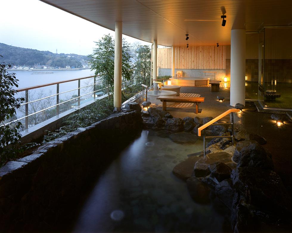 鳥羽シーサイドホテル <br>展望風呂 増築