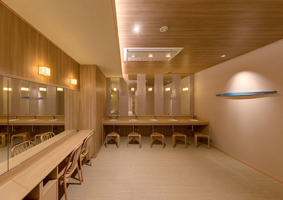 ホテルニューアカオ <br>大浴場 「スパリウムニシキ」 増築