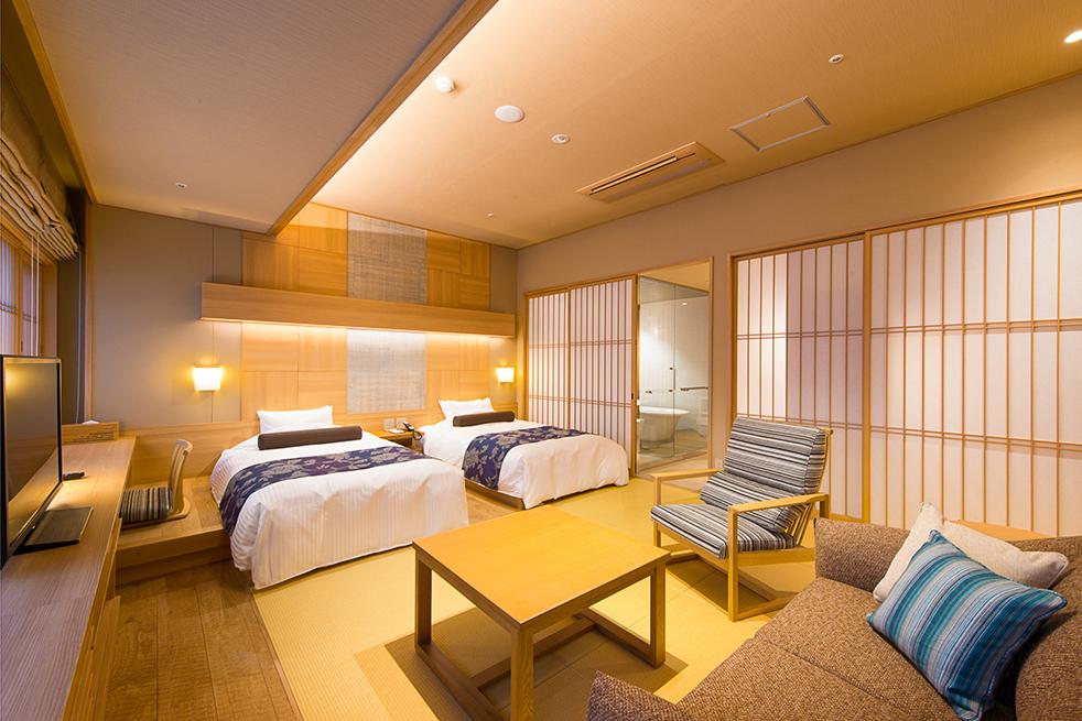 ホテル明山荘 <br>客室 改装