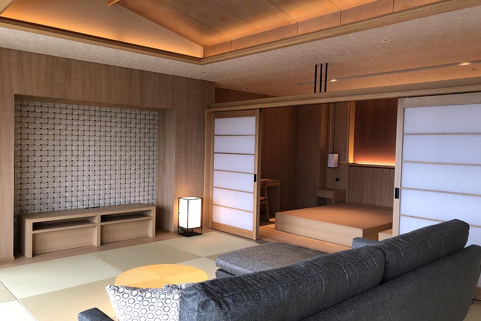 源泉の宿 萩本陣 <br>客室 改装