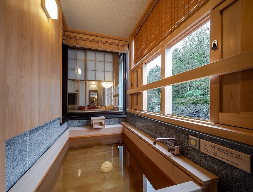 修善寺水月 湯回廊菊屋「水の語り部」 <br>客室 新築、改装